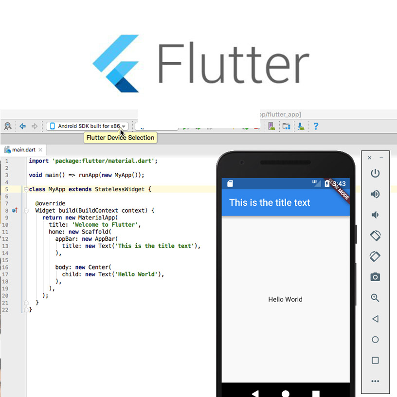 Flutter Uygulama Geliştirme