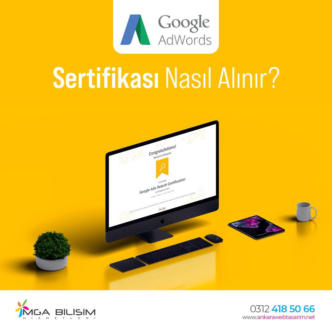 Google Adwords Sertifikası Nasıl Alınır?