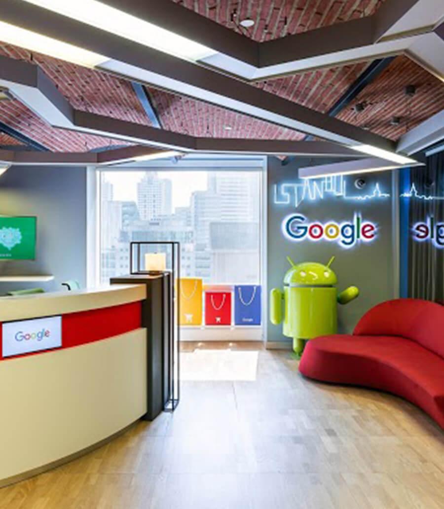 Google Türkiye Ofisi İletişim